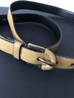 Aigner Leather Belt camel leather