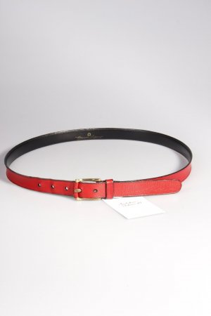 Aigner vintage belt red