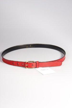 Aigner Vintage-Gürtel rot