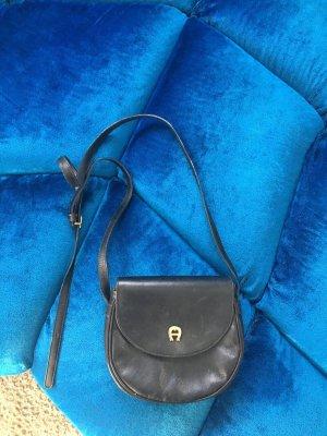 Aigner Vintage Tasche schwarz