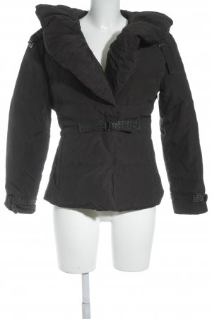 Aigner Winterjacke schwarz Street-Fashion-Look