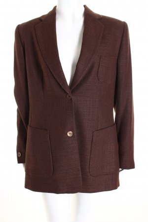 Aigner Woll-Blazer braun Business-Look