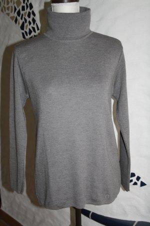 Aigner Maglione dolcevita grigio chiaro Lana