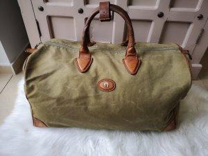 Aigner XXL Reisetasche Vintage Olivgrün