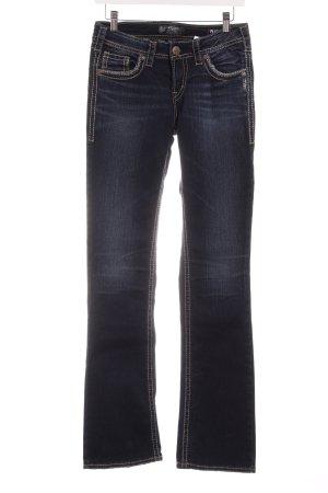 Aiko Boot Cut Jeans dunkelblau Casual-Look