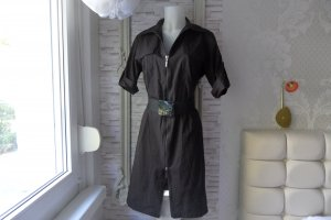 Airfield Cargo Dress black cotton