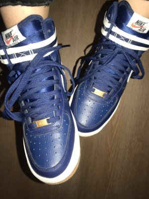 Nike Lace Shoes dark blue
