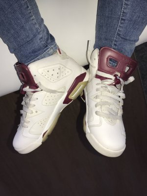 Air Jordan 6 Maroon Gr.39 Top Zustand!