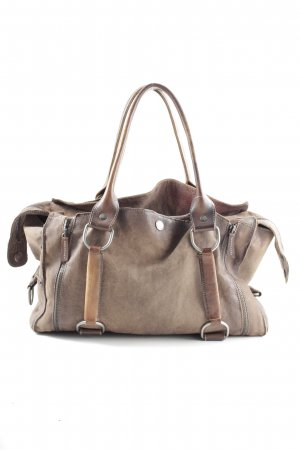Air Step Handbag bronze-colored casual look