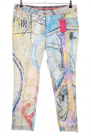 Airfield 3/4 Length Trousers abstract pattern casual look