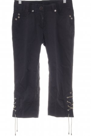 Airfield 3/4 Length Trousers black casual look