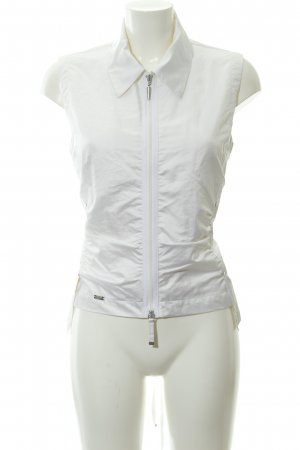 Airfield Sleeveless Blouse white extravagant style