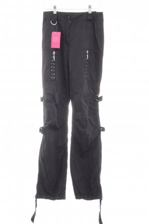 Airfield Pantalone largo nero stile casual