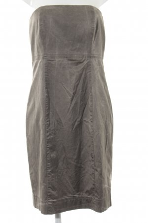Airfield Bandeau Dress grey brown elegant