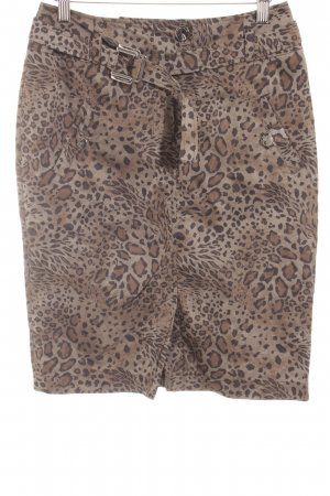 Airfield Pencil Skirt leopard pattern animal print