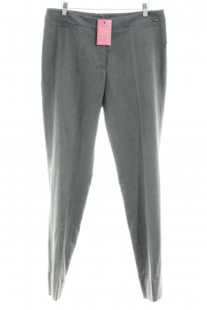 Airfield Pleated Trousers dark grey flecked business style