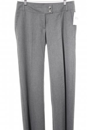 Airfield Pleated Trousers grey business style
