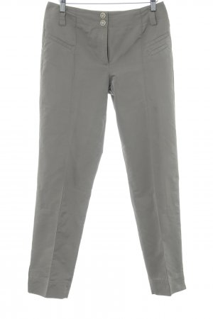 Airfield Pleated Trousers grey brown elegant