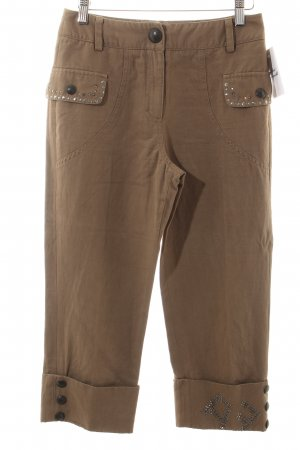 Airfield Caprihose hellbraun Casual-Look