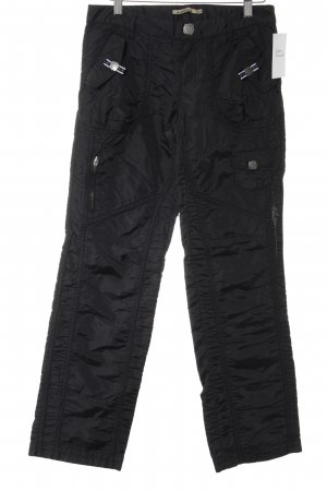 Airfield Cargohose schwarz Casual-Look