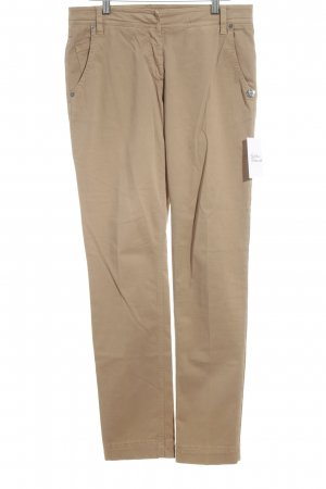 Airfield Chinos camel simple style