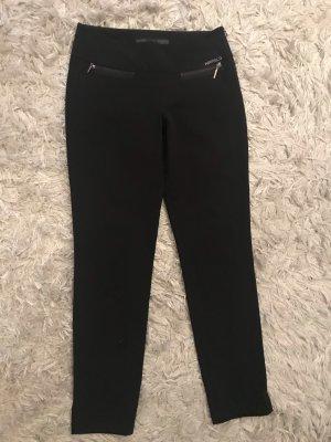 Airfield Pantalon en velours côtelé noir-argenté