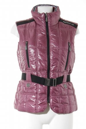 Airfield Daunenweste pink Steppmuster Casual-Look