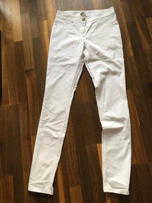 AIRFIELD Designer Jeans weiß, 36 High waist