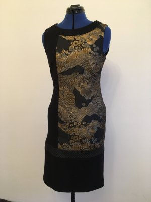 Airfield Woolen Dress black-gold-colored new wool