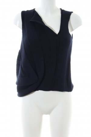 Airfield Fine Knitted Cardigan blue casual look