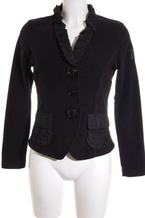 Airfield Fleece Jackets black casual look