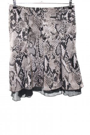 Airfield Flared Skirt animal pattern elegant