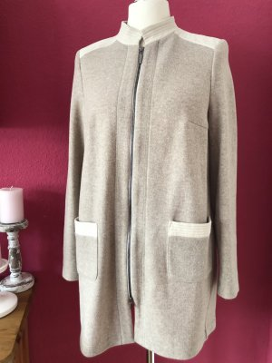 Airfield Cardigan oatmeal mixture fibre