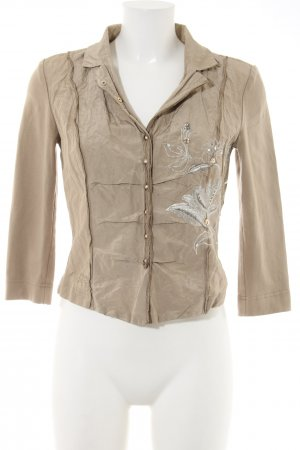 Airfield Shirt Blouse natural white themed print casual look