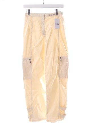 Airfield Pantalone crema stile atletico