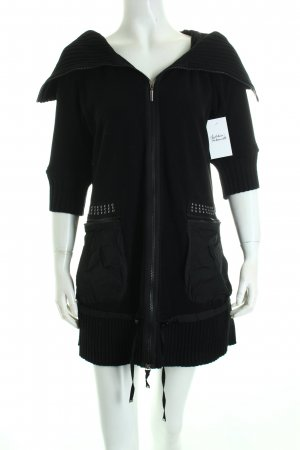 Airfield Jacke schwarz extravaganter Stil