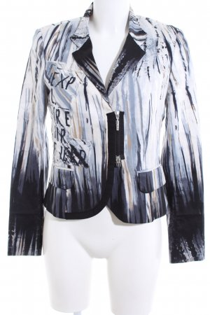 Airfield Jersey Blazer abstract pattern casual look