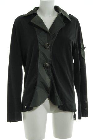 Airfield Blazer en jersey noir style extravagant