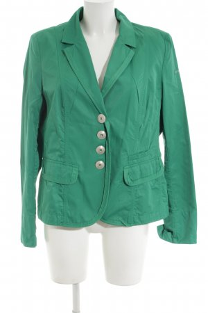 Airfield Blazer in jersey verde stile professionale