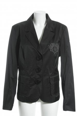 Airfield Jersey Blazer black casual look