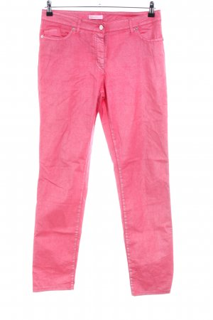 Airfield Peg Top Trousers pink casual look