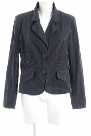 Airfield Blazer corto blu scuro stile casual