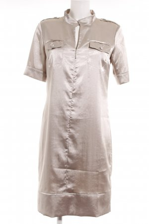 Airfield Shortsleeve Dress silver-colored elegant