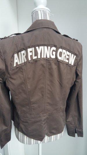 Airfield Giacca corta oro-marrone-grigio