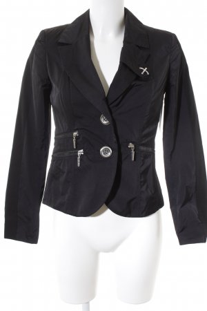 Airfield Short Jacket black street-fashion look
