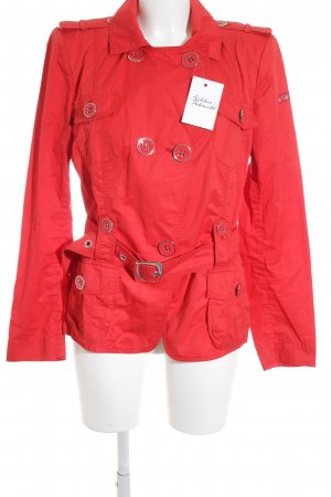 Airfield Short Coat red business style