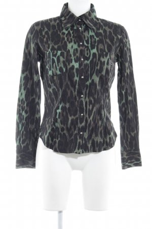Airfield Long Sleeve Blouse animal pattern animal print
