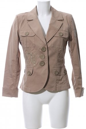 Airfield Long-Blazer bronzefarben Casual-Look