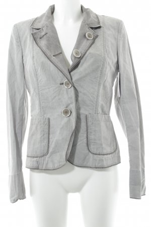 Airfield Blazer largo gris look casual