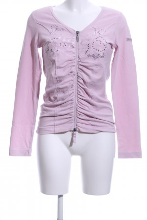 Airfield Longsleeve pink Casual-Look